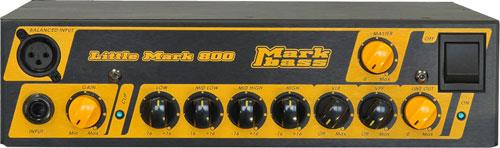Markbass Little Mark 800 basgitaar versterker top
