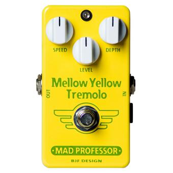 Mad Professor Mellow Yellow Tremolo Handwired reverb/chorus/vibrato/tremolo pedal