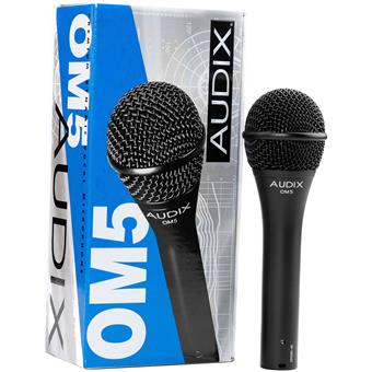 Audix OM5 dynamic microphone for vocalists