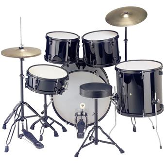Stagg TIM122B Black starter drum kit