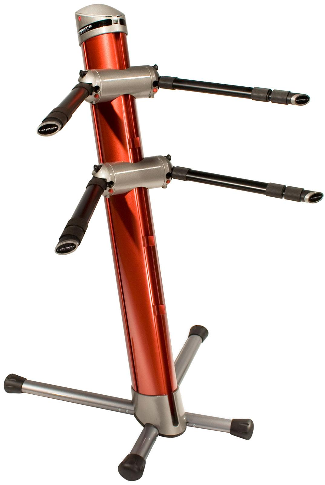Ultimate Ax90 Apex Column Keyboard Stand Fire Red Keymusic