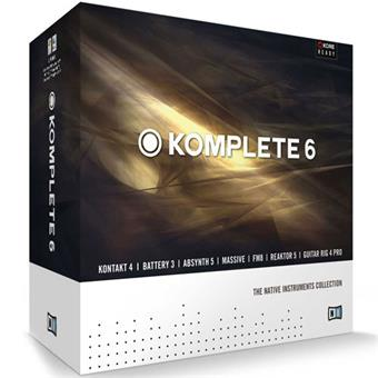Native Instruments Komplete 6 muzieksoftware