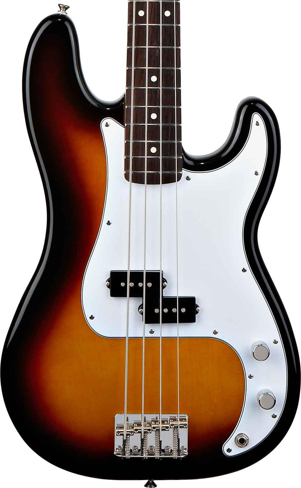 fender standard precision bass brown sunburst rosewood keymusic. Black Bedroom Furniture Sets. Home Design Ideas