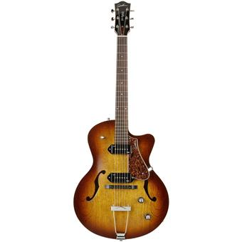 Godin 5th Avenue Kingpin CW2 Cognacburst jazz guitar