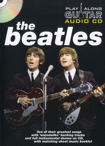music sales play along guitar audio the beatles keymusic. Black Bedroom Furniture Sets. Home Design Ideas