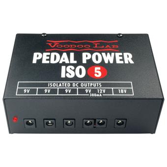 Voodoo Lab Pedal Power ISO 5 pedal power supply/adapter