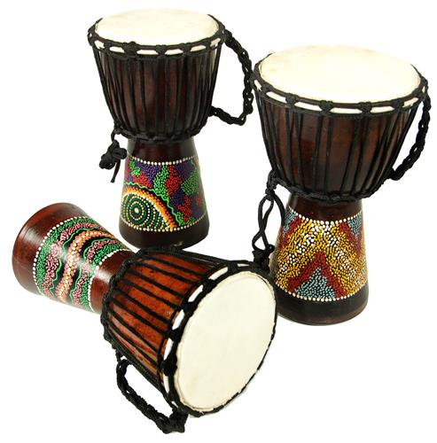 Kong African Djembe 30 Painted