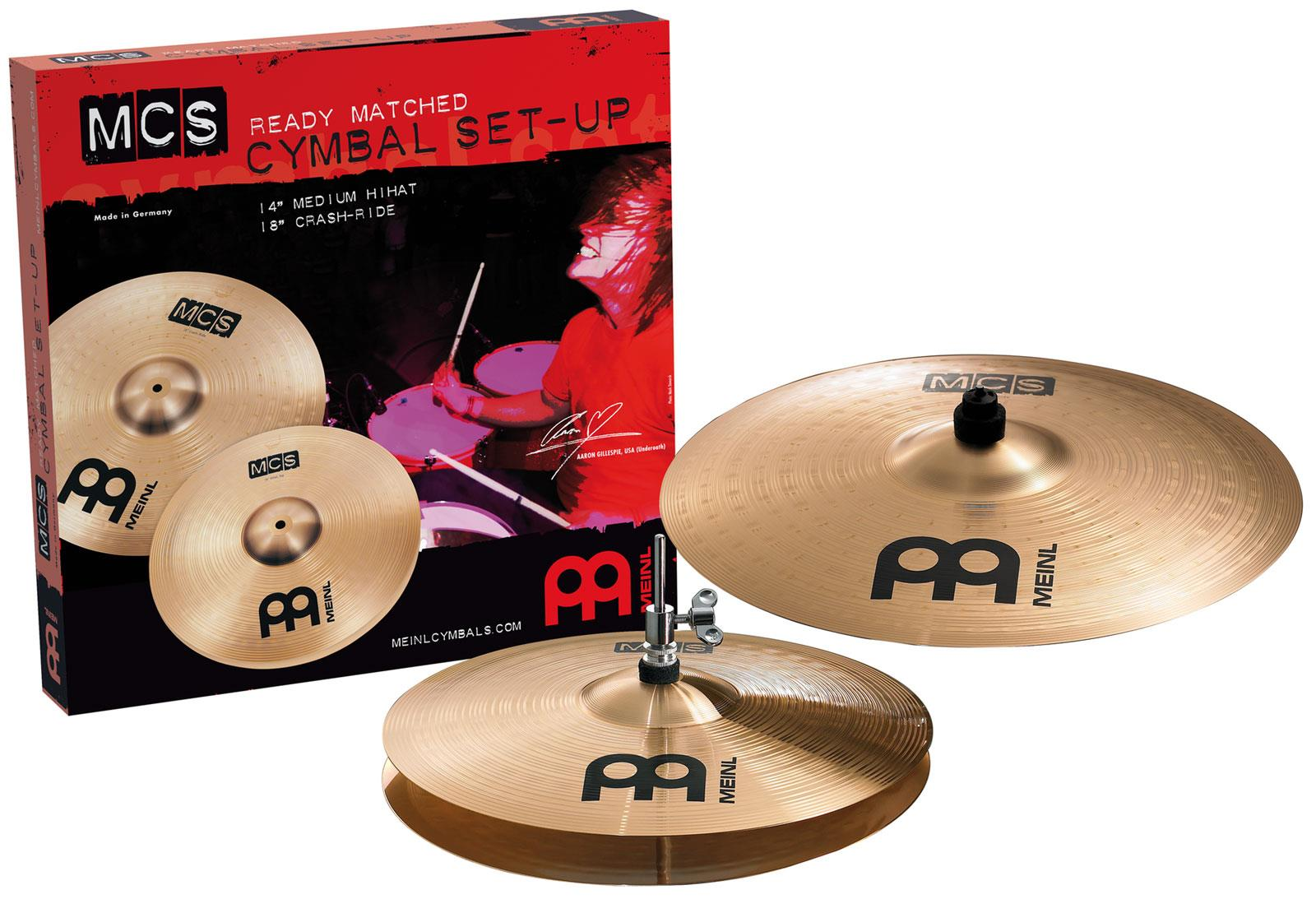 meinl mcs 1418 cymbal set keymusic. Black Bedroom Furniture Sets. Home Design Ideas