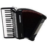 Hohner Bravo III 72 Accordion Black