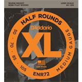 D'Addario ENR72 Half Rounds Bass Medium 50-105