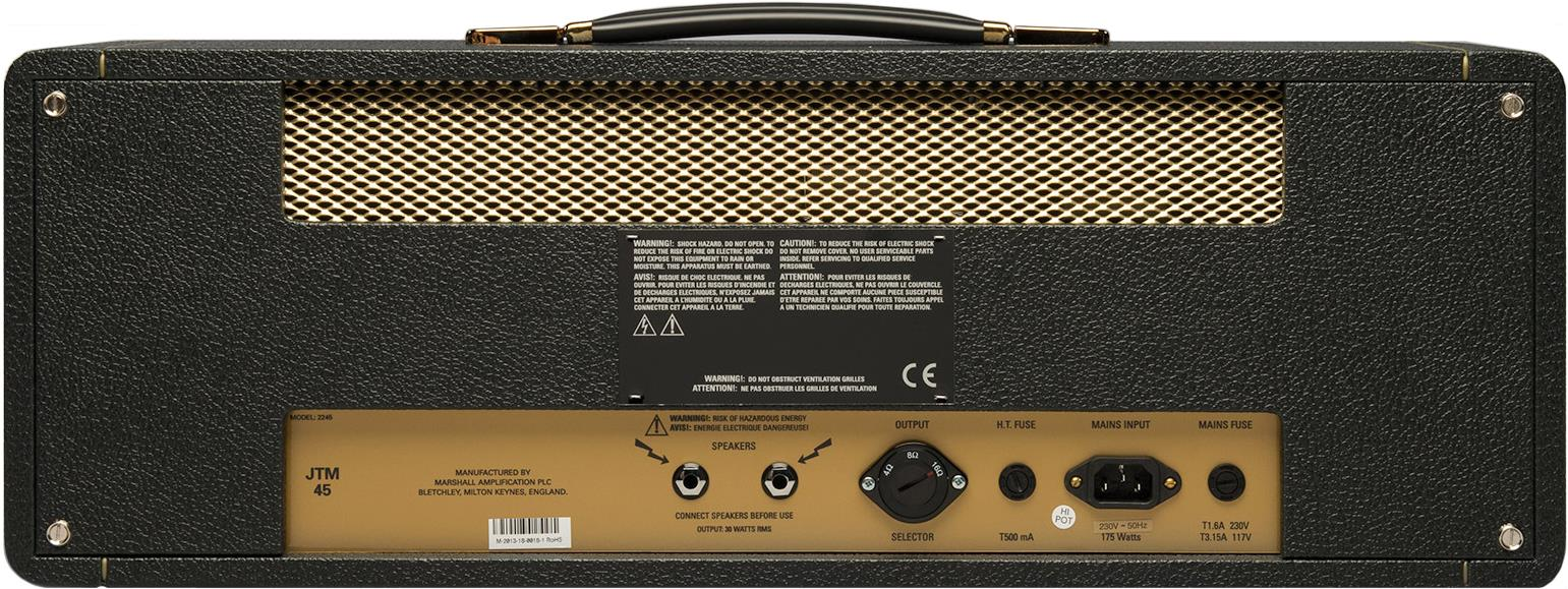 Marshall JTM45 2245 tube guitar head