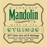 D'Addario J67 Nickel Mandolin Strings 11-39