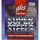 GHS STUL Ultra Light Super Steel Electric Guitar Strings