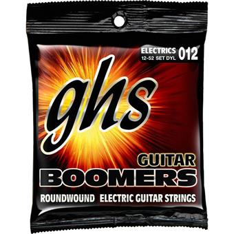 GHS DYL Dynamite Light Boomers Electric Guitar Strings snarenset voor elektrische gitaar