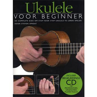 Hal Leonard Ukulele Voor Beginners Book And CD lesmethode