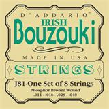 D'Addario J81 Phosphor Bronze Irish Bouzouki Strings