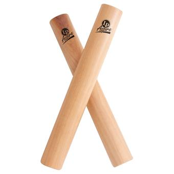 Latin Percussion LPA165 Aspire White Wood Clave claves