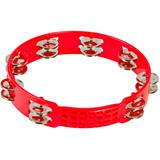 Latin Percussion LPA191 Aspire Plastic Tambourine Red 10 Inch