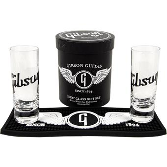Gibson Lifestyle Shot Glass Gift Set marchandise/collectible guitare