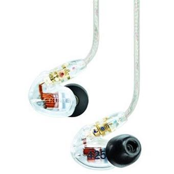Shure SE425 Sound Isolating Headphones Clear in-ear monitoring