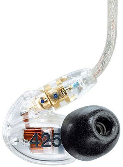 82ab04b1af3 Shure SE425 Sound Isolating Headphones Clear in-ear monitoring