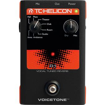 TC-Helicon VoiceTone R1 multi effects processor