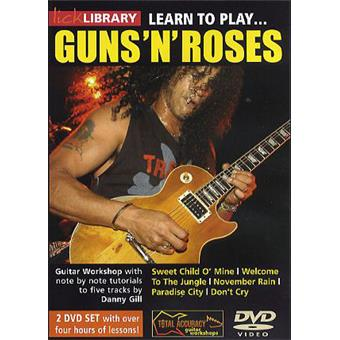 Hal Leonard Learn To Play Guns N Roses guitar/bass video