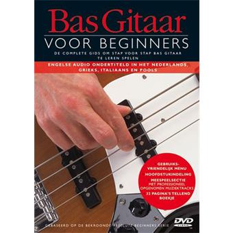 Hal Leonard Basgitaar Voor Beginners DVD guitar/bass video