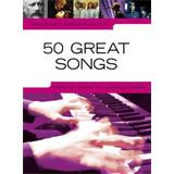 Hal Leonard Really Easy Piano Collection 50 Great Songs