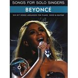 Music Sales Songs For Solo Singers Beyoncé