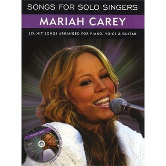 Hal Leonard Songs For Solo Singers Mariah Carey livre chant