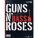 Hal Leonard Authentic Playalong Guns N Roses Bass Guitar