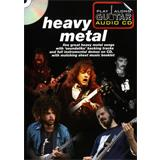 Hal Leonard Play Along Guitar Audio CD Heavy Metal