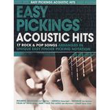 Hal Leonard Easy Pickings Acoustic Hits