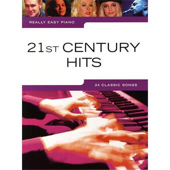 Hal Leonard Really Easy Piano 21st Century Hits sonbook voor keyboard/piano