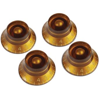 Gibson PRHK-030 Top Hat Knobs Vintage Amber control knob