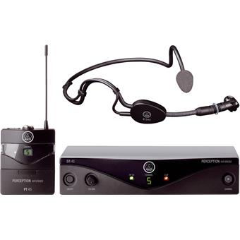 AKG PW45 Perception Wireless Sports Set Band A wireless headset microphone