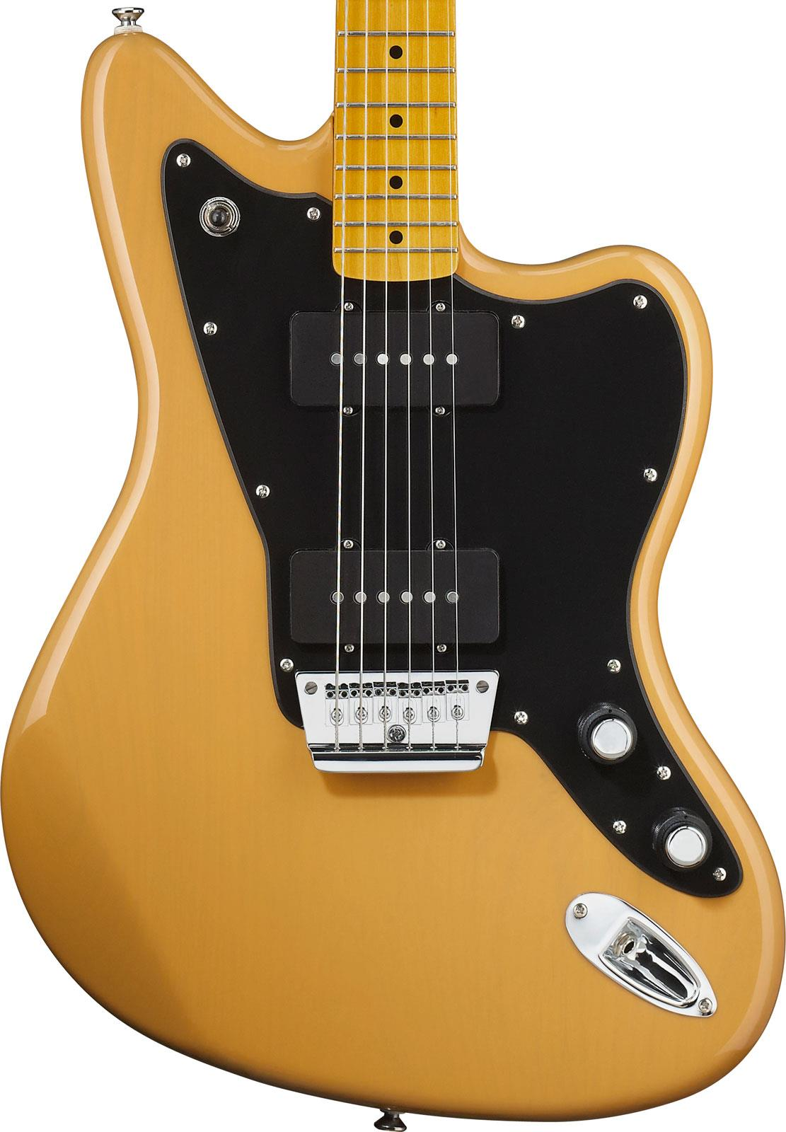 squier vintage modified jazzmaster butterscotch blonde keymusic. Black Bedroom Furniture Sets. Home Design Ideas
