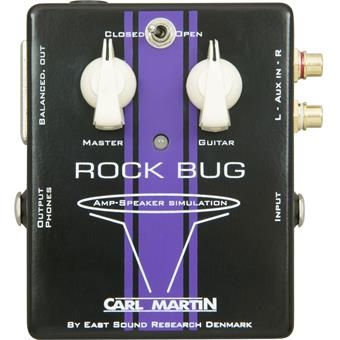 Carl Martin Rock Bug effect pedal
