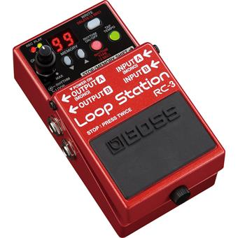 Boss RC-3  Loop Station delay/echo/looper pedaal