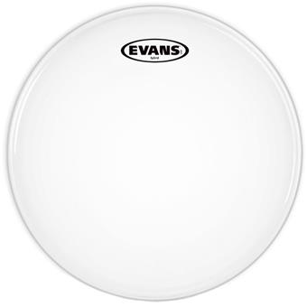 Evans SB14MHW Hybrid White Marching Snare 14 Inch marching drumvel