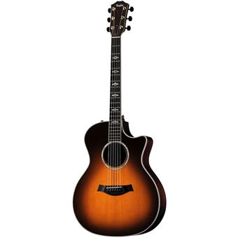 Taylor 814ce Tobacco Sunburst acoustic-electric cutaway orchestra guitar