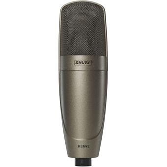Shure KSM42 small diaphragm microphone