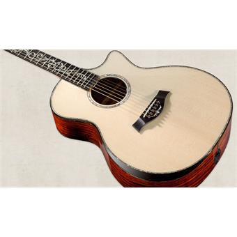 Taylor PS12ce Grand Concert Presentation Series acoustic-electric cutaway orchestra guitar