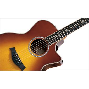 Taylor 814ce Honey Sunburst acoustic-electric cutaway orchestra guitar