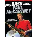 Hal Leonard Play Bass With Paul McCartney
