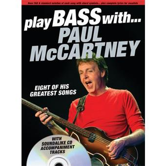 Hal Leonard Play Bass With Paul McCartney tablature guitare basse