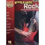 Hal Leonard Bass Play Along Volume 8 Punk Rock