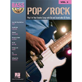 Hal Leonard Bass Play Along Volume 3 Pop Rock songbook voor basgitaar