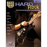 Hal Leonard Bass Play Along Volume 7 Hard Rock